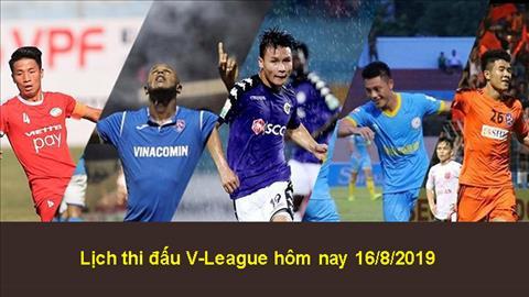 Lịch thi đấu V-League 2019 hôm nay 168 - LTĐ bóng đá Việt Nam hình ảnh