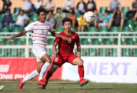 U18 Viet Nam thua dau don U18 Campuchia o giai DNA