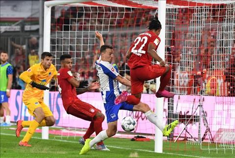 Kết quả bàn thắng Bayern Munich vs Hertha Berlin 2-2 Bundesliga hình ảnh