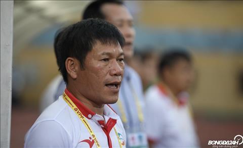 HLV Nguyen Hai Bien chia se ve viec Trong Hoang chan thuong.