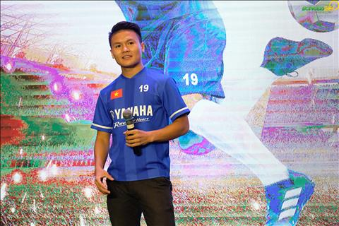 Quang Hải gửi lời tới các cầu thủ nhí dự giải U13 Yamaha Cup 2019 hình ảnh