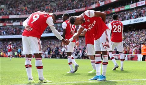 Arsenal Lacazette va Aubameyang ghi ban