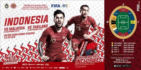 Indonesia công bố giá vé cắt cổ ở vòng loại World Cup 2022 hình ảnh