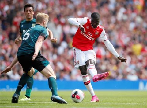 Tiền vệ Nicolas Pepe có cơ hội đá chính trước Liverpool hình ảnh