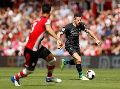 Southampton dang choi rat tot truoc Liverpool