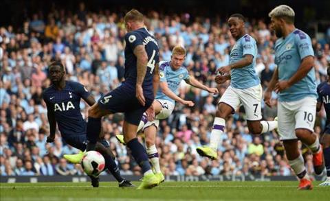 Điểm nhấn Man City vs Tottenham Thêm một lần đau hình ảnh