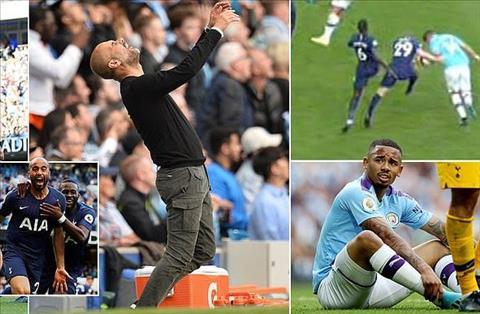 Man City 2-2 Tottenham vòng 2 Premier League 201920 hình ảnh