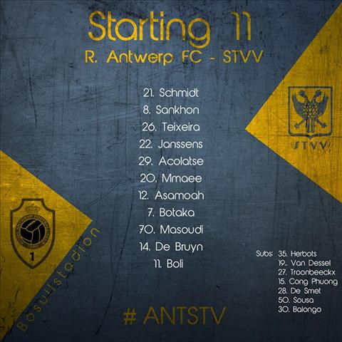 Xem công phượng thi đấu, trực tiếp Antwerp vs Sint-Truidense hình ảnh