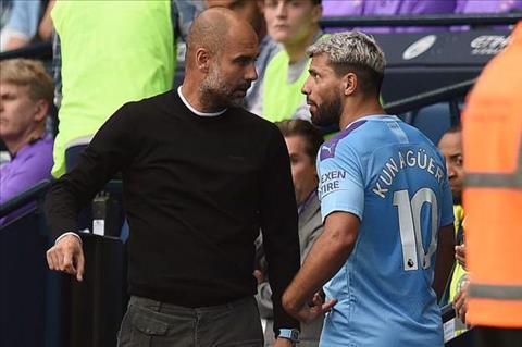 Sergio Aguero mâu thuẫn với HLV Pep Guardiola hình ảnh