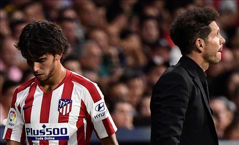 Diego Simeone muốn 'bom tấn' Atletico cải thiện phong độ hơn nữa hình ảnh