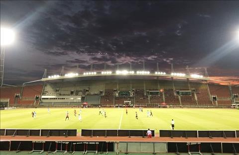 San Rangsit Campus cua truong dai hoc Thammasat se la noi dien ra cuoc do suc giua DT Thai Lan va Viet Nam o vong loai World Cup 2022.