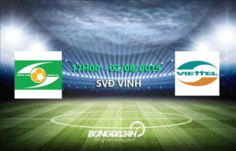 Trực tiếp bóng đá V-League 2019 link xem SLNA vs Viettel hôm nay hình ảnh