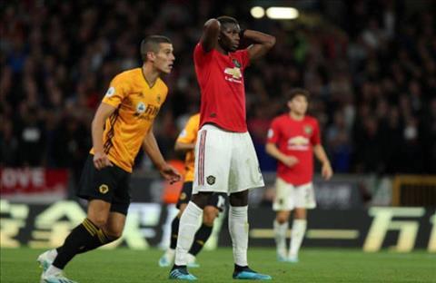 Wolves 1-1 MU Pogba bị chỉ trích vì tranh quyền đá pen với Rashford hình ảnh