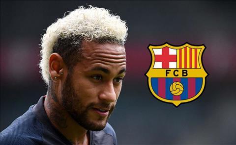Neymar tro lai Barca