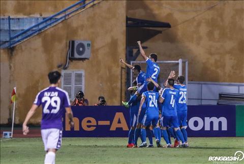 Tuy nhien khi tran dau bat dau chua lau, Ha Noi FC bi doi gao nuoc lanh khi Altyn Asyr co ban mo ti so.