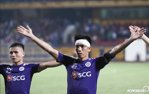Chien thang nay giup Ha Noi FC co duoc loi the truoc tran ban ket luot ve dien ra tai Turkmenistan vao ngay 27/8.
