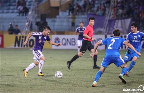 Bất chấp bị khoá chặt, Quang Hải lập cú đúp tại AFC Cup 2019 hình ảnh