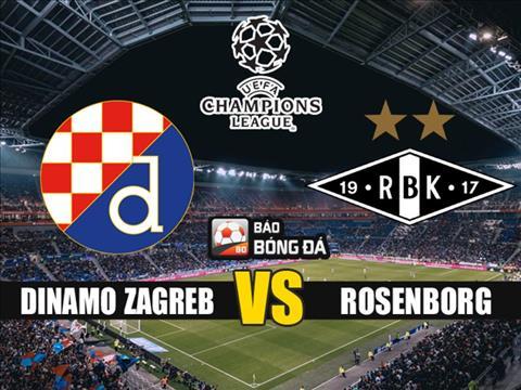 Dinamo Zagreb vs Rosenborg 2h00 ngày 228 Champions League 201920 hình ảnh