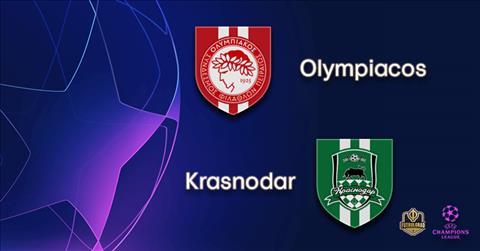Olympiacos vs Krasnodar 2h00 ngày 228 Champions League 201920 hình ảnh