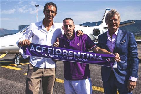 Tiền vệ Franck Ribery gia nhập Fiorentina  hình ảnh