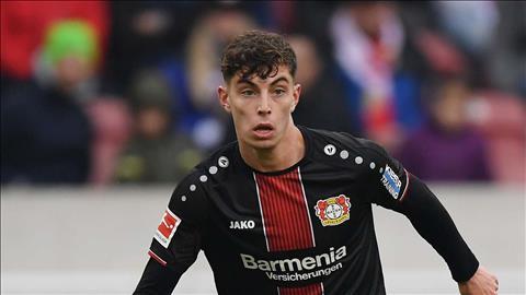 5 đội bóng lớn muốn đưa Kai Havertz rời Bayer Leverkusen  hình ảnh