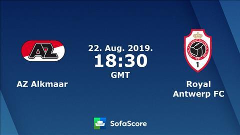 Nhan dinh AZ Alkmaar vs Royal Antwerp 1h30 ngay 23/8 (Europa League 2019/20)