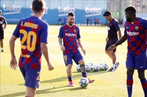 Chứng kiến hình ảnh Lionel Messi, CĐV Barca không thể không vui hình ảnh