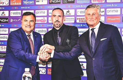 Ribery gia nhập Fiorentina, không quan tâm Ronaldo ở Juventus hình ảnh