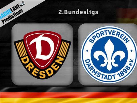 Darmstadt vs Dynamo Dresden 23h30 ngày 238 Hạng 2 Đức 201920 hình ảnh