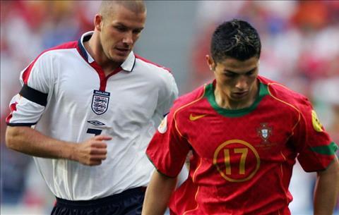 Beckham va Ronaldo