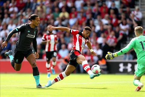 Liverpool de thung luoi trong ca 4 tran dau tien o mua giai 2019/20