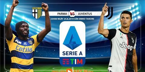 Trực tiếp Parma vs Juventus vòng 1 Serie A 201920 hôm nay hình ảnh