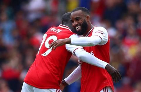 Nicolas Pepe nói về Arsenal Tôi và Lacazette đang có sự liên kết tốt hình ảnh