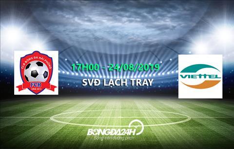 Trực tiếp bóng đá Hải Phòng vs Viettel link xem V-League 2019 hình ảnh