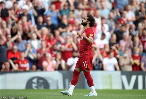 Mo Salah tran Liverpool 3-1 Arsenal