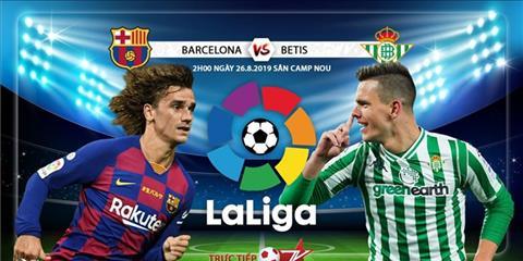 Barca vs Betis 2h00 ngày 268 La Liga 201920 hình ảnh