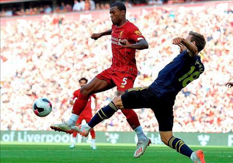 Liverpool vs Arsenal 3-1 Hình hài mới, kết quả cũ hình ảnh