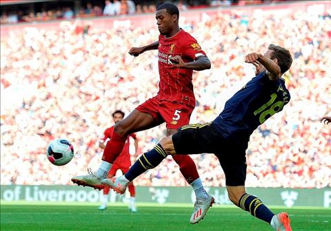 Liverpool vs Arsenal Wijnaldum vs Montreal