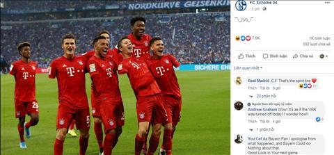 Bị từ chối penalty, Schalke dùng photoshop xóa tay cầu thủ Bayern hình ảnh
