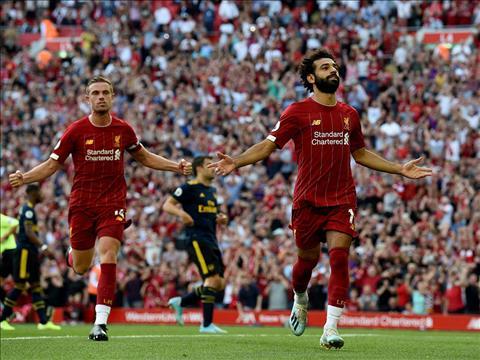 Ket qua bong da hom nay 25/8/2019: Salah ha sat Arsenal