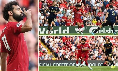 Liverpool thắng thuyết phục Arsenal 'Siêu Salah' lại đánh sập Pháo hình ảnh 2