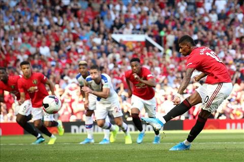 Rashford da truot penalty cho MU