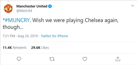 MU troll Chelsea