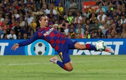Antoine Griezmann ghi ban cho Barca