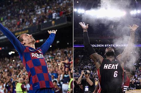 Griezmann va LeBron James
