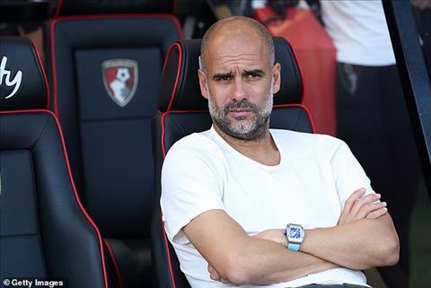 Thắng Bournemouth, HLV Pep Guardiola vẫn không hài lòng về trọng tài hình ảnh