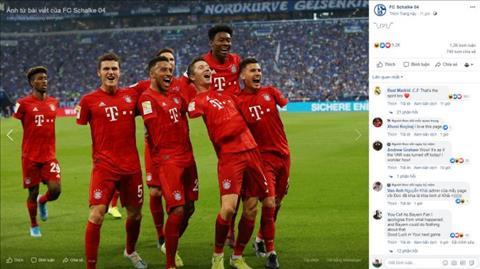 Schalke 0-3 Bayern Munich Các cầu thủ bỗng dưng khuyết tật tay hình ảnh