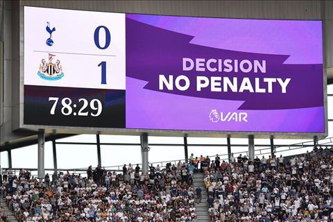 Tottenham bị VAR từ chối trong trận thua Newcastle hình ảnh