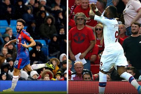 Chiến thuật giúp Crystal Palace đánh bại hai đội bóng thành Manchester hình ảnh