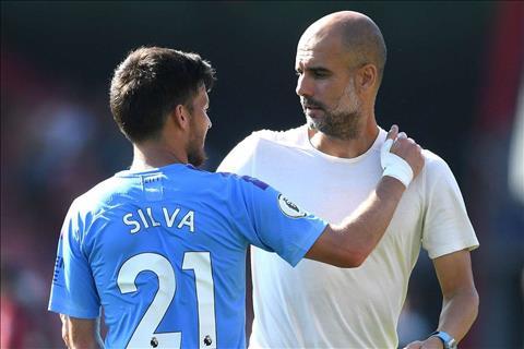 Pep ca ngợi tiền vệ David Silva hết lời sau trận thắng Bournemouth hình ảnh